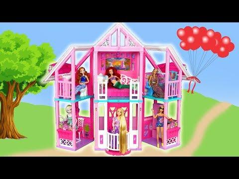 New Barbie Malibu House Unboxing Assembly Rumah Boneka Barbie Baru