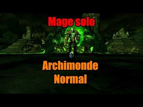 Mage solo - Archimonde Normal (!!)