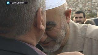شاهد: الشيخ رائد صلاح يتوجه لتسليم نفسه لسجن الإسرائيلي