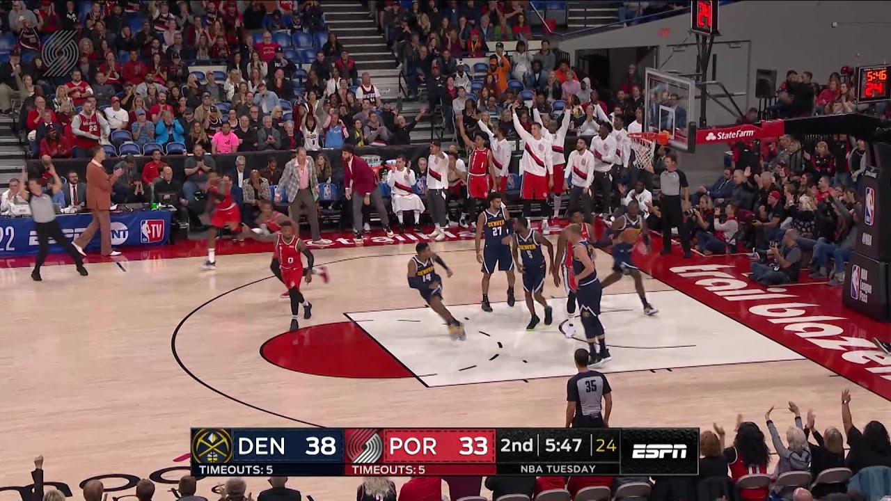 Trail Blazers 94, Nuggets 105 | Game Highlights | 2019 NBA Preseason