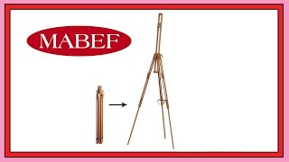Mabef M29 Basic Field Easel [unboxing]