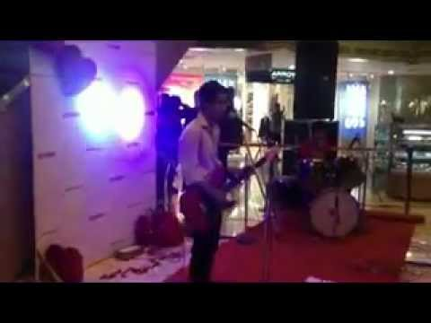Stereophonix, performance at the Crossroads Mall Dehra Dun..