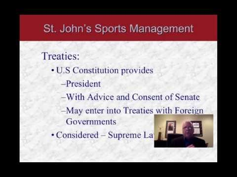 Overview of the American Legal System - Part 1:  St. John's University