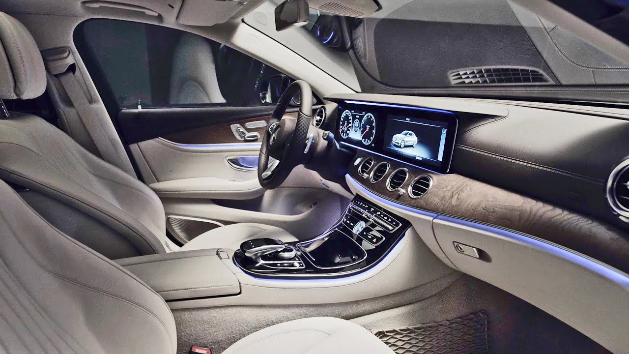 Interior 2017 mercedes e class l sport youtube for Interieur e klasse 2017