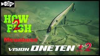 How to Fish the Megabass ONETEN+2 Jerkbait