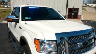 prvs install sound off signal blue lights on 2012 ford f 150