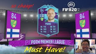 How To Complete The Premier League Player Of The Month Pukki! So Cheap! Must Have! Rtg#5