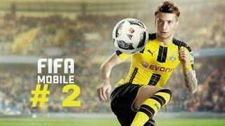 Прохождение игры FIFA Mobile : # 2 .