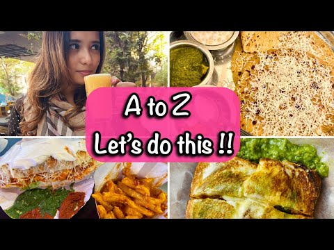 Vlog- A to Z Food Challenge With a TWIST!!