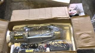 Electric Winch 12000 LB Unboxing - Розпакування
