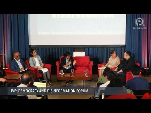 Panel Discussion: The President as Source of Disinformation