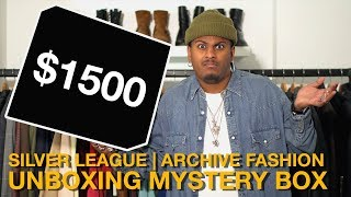 Unboxing $1500 Archive Mystery Box (Undercover & Number Nine)
