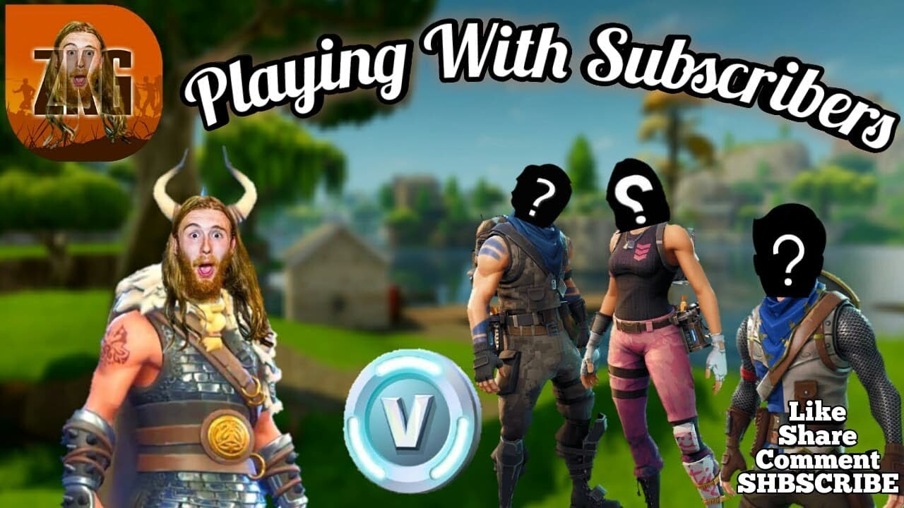 Fortnite Battle Royale Fortnite Playing With Subs 298 Wins Pro