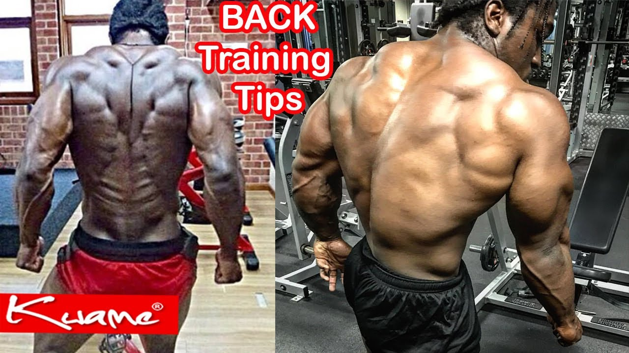 Bodybuilding Tips How To Get A Thick And Wide Back Youtube