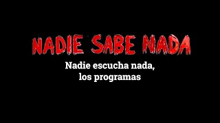 Momentos NSN (3x38): Nadie escucha nada, los programas