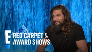 "Jason Momoa Recalls Putting on ""Aquaman"" Suit For First Time 
