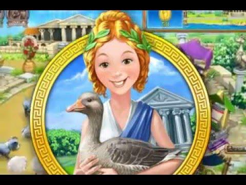 Игра: Веселая ферма. Древний Рим