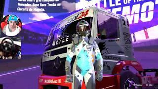Novo Forza Motorsport 7 - Demo PC - Acelerando um Caminhão Volante G27 - Ultra 60 FPS
