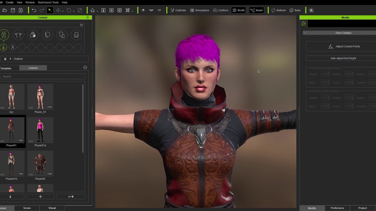 01 Character Creator: Building Characters for Unreal UE4