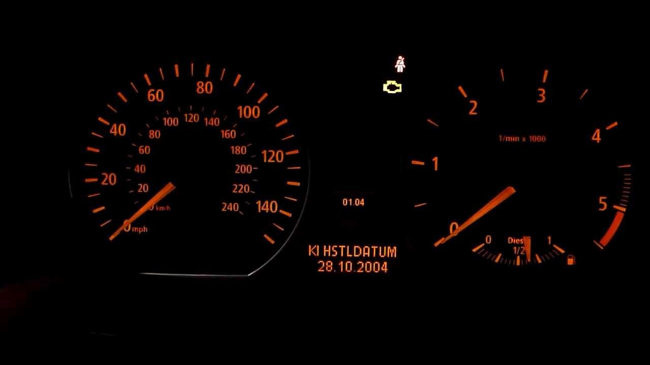 Hidden Menus Bmw 118 E 87 Engine Temperature And More