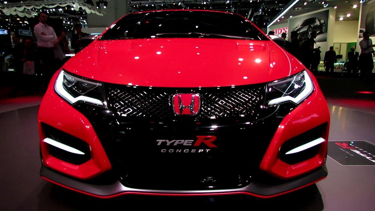 2015 Honda Civic Type R Concept  Exterior Walkaround  2014