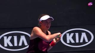 Jelena Ostapenko Practice - Australian Open 2018