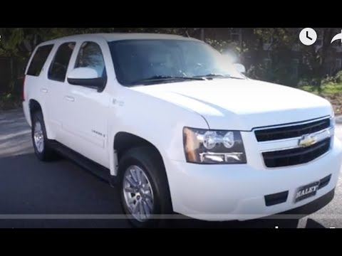 2009 Chevrolet Tahoe Hybrid 4WD Walkaround Start up Tour and