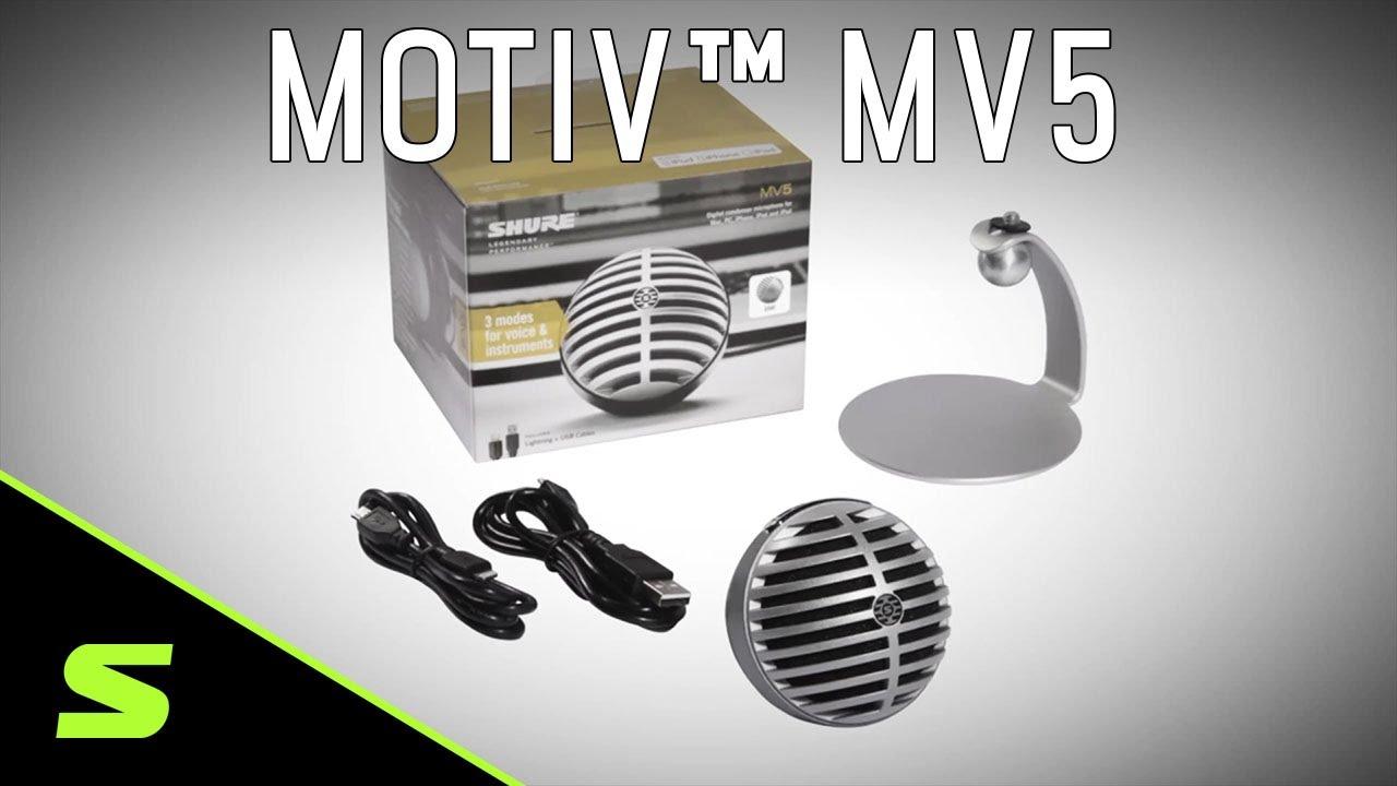 MOTIV MV5 // Digital Condenser Microphone video thumbnail