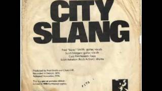 sonic rendezvous band city slang 1978 mono