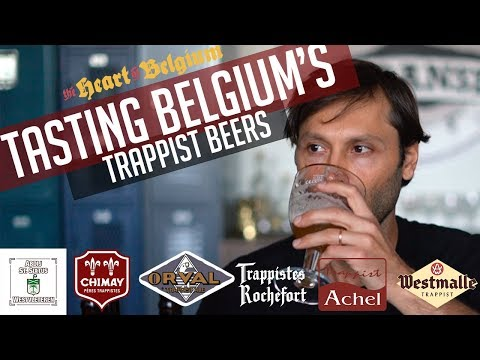 Tasting Belgium's Trappist Beers
