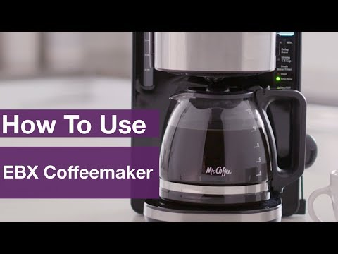 How to Use Mr. Coffee® 12-Cup Stainless Programmable Coffeemaker - EBX