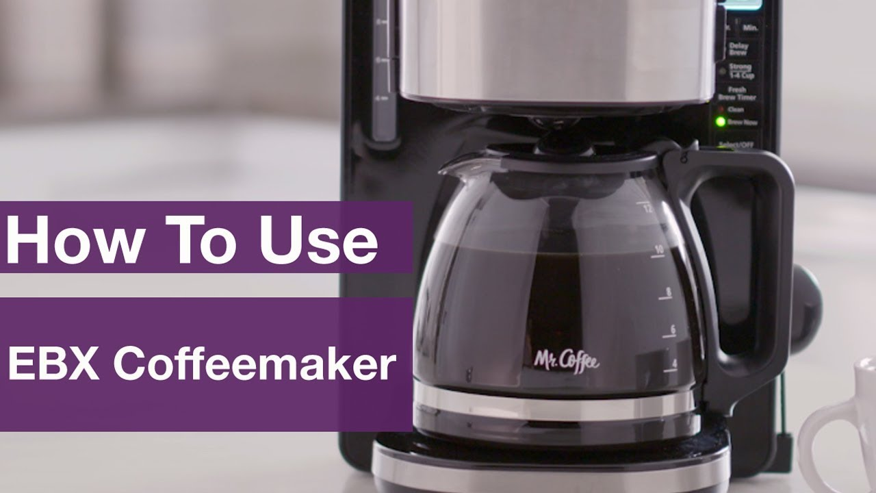 How to Use Mr. Coffee® 12-Cup Stainless Programmable ...