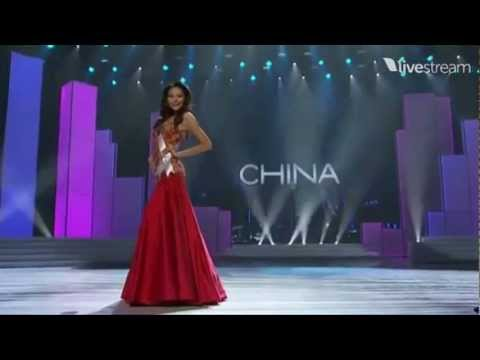 Miss Universe 2011 Preliminary - CHINA (Luo Zilin)