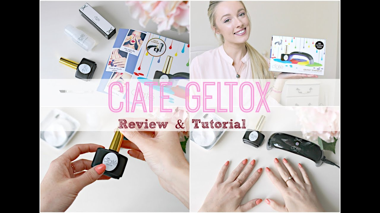 Ciate geltox gel manicure review tutorial how to do gel nails ciate geltox gel manicure review tutorial how to do gel nails at home youtube solutioingenieria Images
