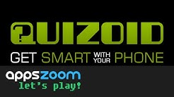 Quizoid for Android: Let's Play