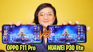 OPPO F11 Pro Vs Huawei P30 Lite - Mobile Legends, Camera, Performance