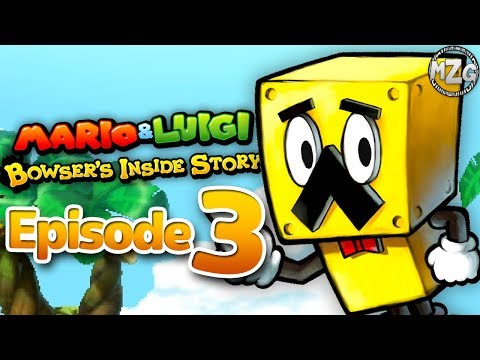 Mario & Luigi: Bowser's Inside Story Gameplay Walkthrough - Episode 3 - Broque Monsieur!