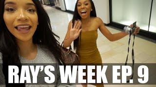 RAY'S WEEK| 9 - Pregnancy, Out to Lunch, Shopping w/ AshleyDBeauty!