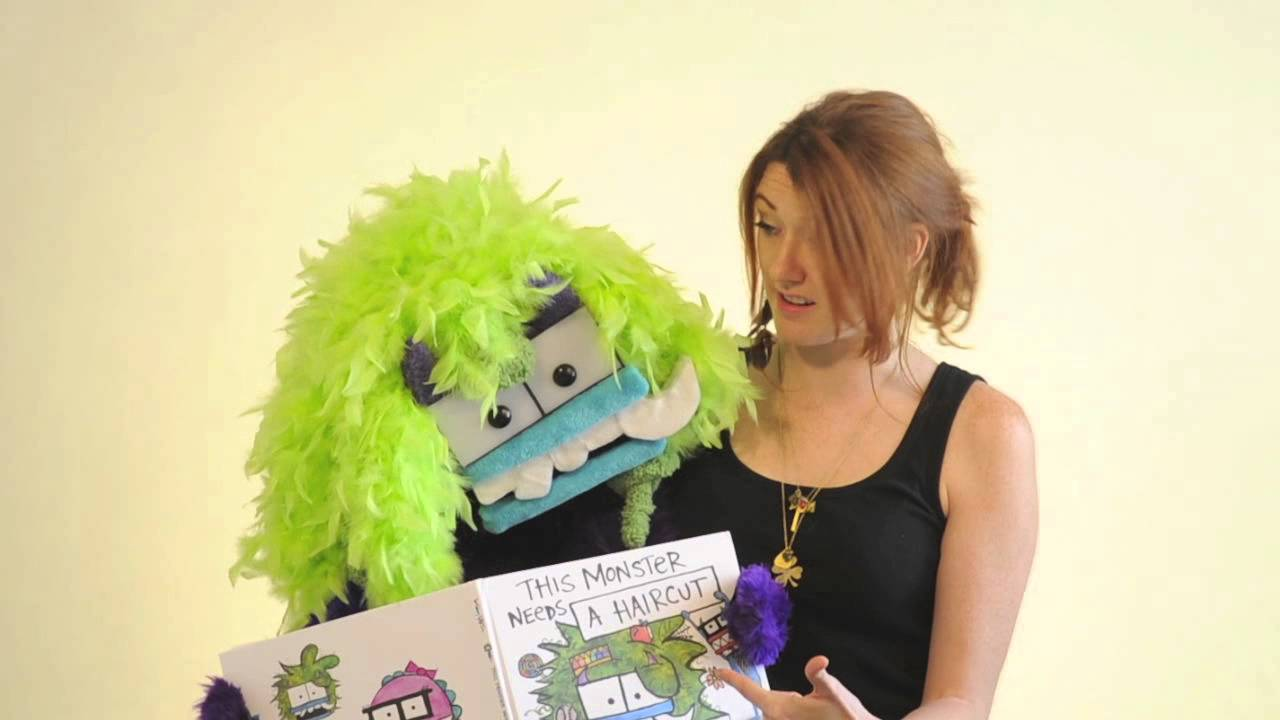 This Monster Needs A Haircut By Bethany Barton Book Trailer With