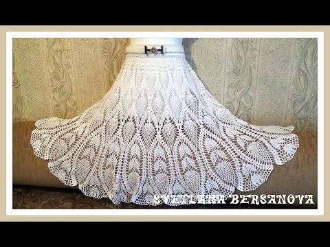 Часть 1. knitted crochet skirt