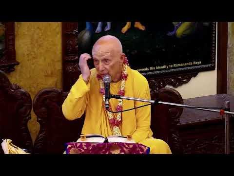Chandramauli Swami Maharaj Lecture on Mausala Lila is an Illusion Created by Lord Krishna