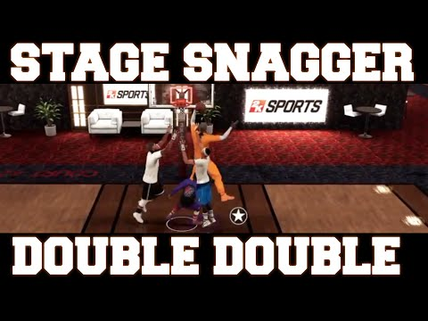NBA 2K16 - Stage Snagger (Double Double, 10 PTS 14 REB)