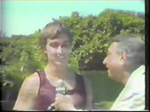 1982 Monday Night Football Superstars - 100 Yard Dash Final