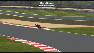GP Bikes Moto3 physics test model ver3