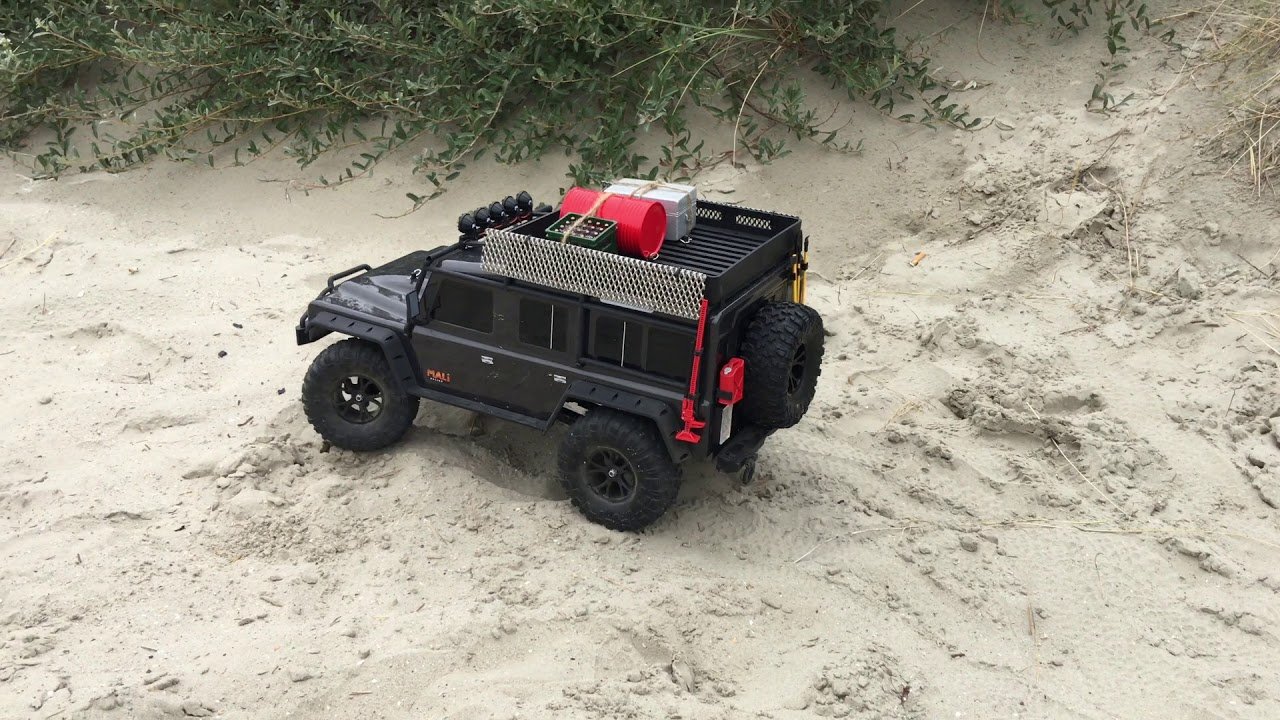 Sandbleche 1 Paar in Rot 1:10 Scaler Crawler Axial Traxxas Trx-4 RC4WD