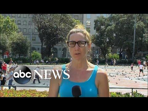 US eyewitness recounts Barcelona terror attack