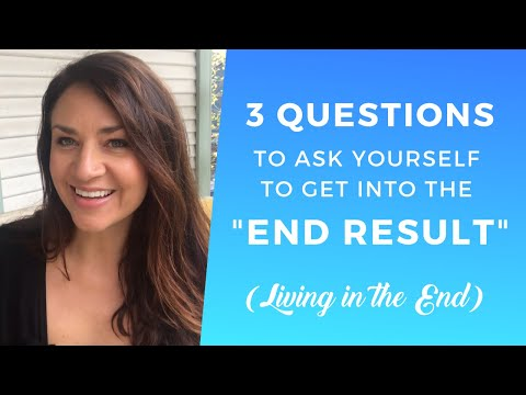 How to Live in the End Result ∬ How to Neville Goddard