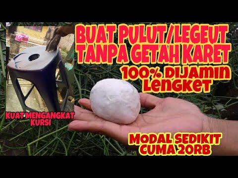 CARA MEMBUAT PULUT/LEGET TANPA GETAH KARET