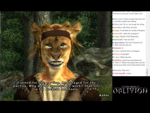 Lets Stream Oblivion Part 1