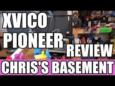 Xvico Pioneer 3D Printer - Review - Chris's Basement